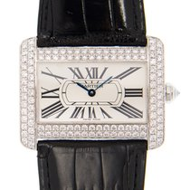Cartier Tank Divan White gold 38mm White
