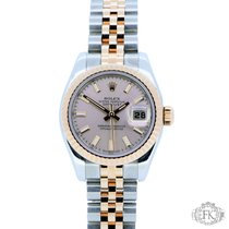 Rolex Lady Datejust Steel and Rose Gold | Ladies Pink Dial...