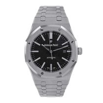Audemars Piguet Royal Oak 41mm Stainless Steel Black Dial Watch