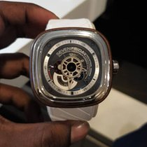 Sevenfriday 47mm Automatic P3-2 Wood pre-owned Malaysia, Petaling Jaya