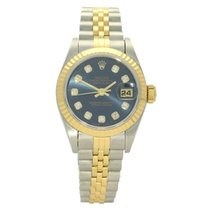 Rolex Lady-Datejust Gold/Steel 26mm Blue No numerals United Kingdom, Liverpool