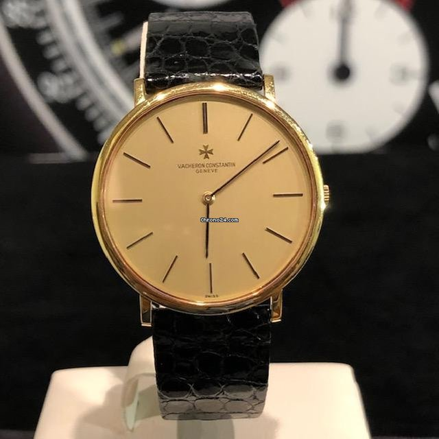 a6e614fec29 Vacheron Constantin Patrimony Super Flat Ref. 33060 Yellow Gold Full Set  1979