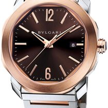 Bulgari Octo new Automatic Watch with original box and original papers OC41BSPGD-102854