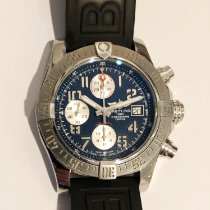 Breitling Avenger II Steel 43mm Blue No numerals United States of America, California, West Hollywood