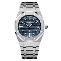 Audemars Piguet Royal Oak Jumbo Сталь 39mm Синий Без цифр Россия, Москва