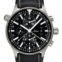 Sinn 900 Steel 44mm Black No numerals