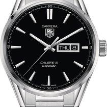TAG Heuer Carrera Calibre 5 new Automatic Watch with original box WAR201A-BA0723