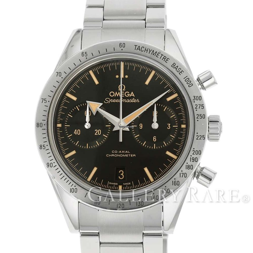 best service 70219 8bac8 Omega Speedmaster '57 Co-Axial Chronograph Stainless Steel 41.5MM