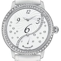 Blancpain Steel Automatic Mother of pearl 36.8mm new Women