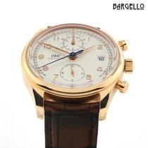 IWC Portuguese Chronograph Красное золото 42mm