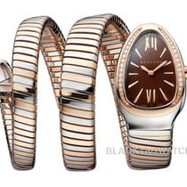 Bulgari Serpenti Gold/Steel 33mm Silver Roman numerals United States of America, Florida, Aventura