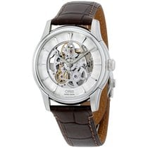 Oris Artelier Skeleton new Automatic Watch with original box 01-734-7670-4051-LS