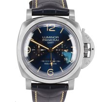 Panerai Luminor 1950 8 Days GMT Titan 47mm Plav-modar
