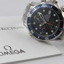 Omega Seamaster Diver 300 M Acier 41.5mm Bleu Sans chiffres