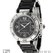 Cartier Pasha Seatimer pre-owned 40.5mm Steel