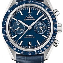 Omega Titanium Automatic Blue 44.2mm new Speedmaster Professional Moonwatch