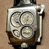 Urwerk EMC Steel Arabic numerals