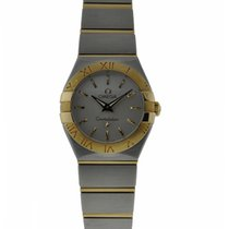 Omega Constellation 24mm Ladies 2 Tone Stainless Steel And...