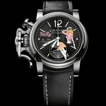 Graham Chronofighter Vintage Noseart Ltd.  (Sally)