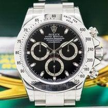 Rolex 116520 Daytona Black Dial SS NEW OLD STOCK / FULL SET...