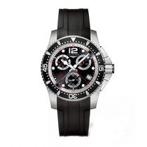 Longines HydroConquest Quartz Chronograph 41mm Mens Watch...