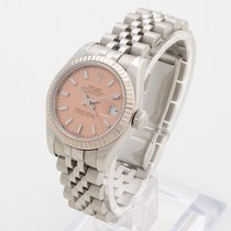 Rolex Lady-Datejust 179174 pink dial box & UK papers