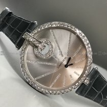 Cartier - Captive 90308QX Diamond Bezel Silver Dial WG