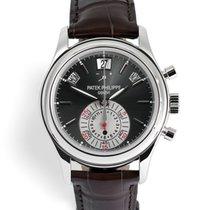 Patek Philippe 5960P Annual Calendar Chronograph - Platinum...