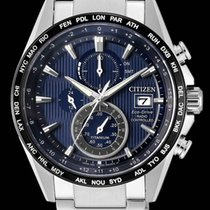 Citizen AT8154-82L CITIZEN H800 Titanio Radiocontrollato.Blu new