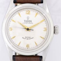 Tudor Oyster Prince Steel 35mm Silver Arabic numerals