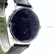 NOMOS Metro Neomatik Steel 35mm Blue