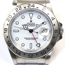 Rolex Explorer II 16570 White Dial Stainless Steel 40mm Year...