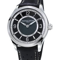 Frederique Constant HOROLOGICAL SMARTWATCH Steel-Black Navy...