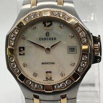 Concord Saratoga Tt.1227439 Steel & 18k Gold W/ Factory...