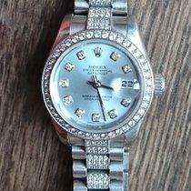 Rolex Platina Automatisch 26mm tweedehands Lady-Datejust