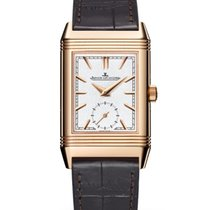 Jaeger-LeCoultre Reverso Duoface Rose gold 42.9mm Silver