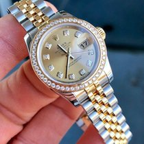 Rolex Lady-Datejust Steel 26mm Gold