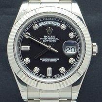 Rolex Day-Date II begagnad 41mm Vitguld