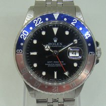 Rolex GMT Master 16700 Pepsi bezel faded