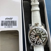 Gaga Milano Steel 40mm Automatic 5020.04 new