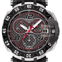 Tissot 43mm Quartz 2016 nieuw T-Race Zwart