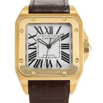 Cartier Santos 100 new Automatic Watch with original box and original papers W20071Y1