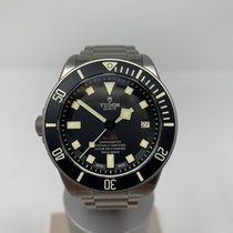 Tudor Pelagos Титан 42mm Чёрный Без цифр