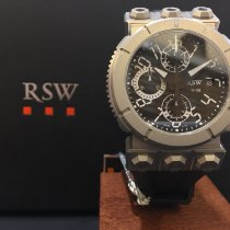 RSW Stål 44mm Automatisk 4125.MS.R1.H12.00 ny