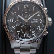 Oris Big Crown ProPilot Chronograph Acier 44mm Noir Arabes