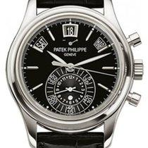 Patek Philippe Annual Calendar Chronograph Platinum 40.5mm Black No numerals United Kingdom, Wilmslow