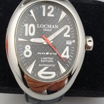 Locman Nuovo Steel 40mm Black