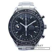 Omega 3520.50 Staal Speedmaster Day Date 39mm tweedehands