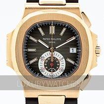 Patek Philippe 5980R-001 Aur roz 2016 Nautilus 40.5mm folosit