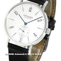 NOMOS Tangente 38 Datum new Manual winding Watch with original box and original papers 130